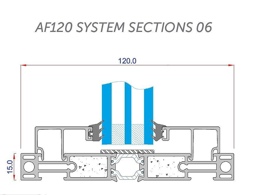 AF120 detail