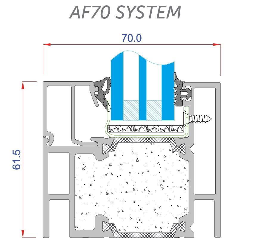 AF70 detail